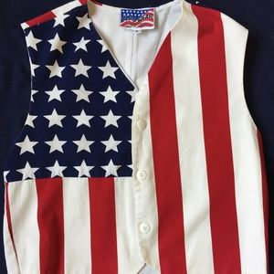 Vintage Flag Wear collection American Flag Vest